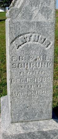 SCHRUNK, ARTHUR - Woodbury County, Iowa | ARTHUR SCHRUNK