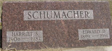 SCHUMACHER, EDWARD & HARRIET - Woodbury County, Iowa | EDWARD & HARRIET SCHUMACHER