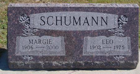 SCHUMANN, LEO & MARGIE - Woodbury County, Iowa | LEO & MARGIE SCHUMANN