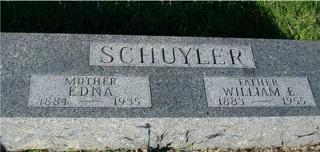SCHUYLER, WILLIAM & EDNA - Woodbury County, Iowa | WILLIAM & EDNA SCHUYLER
