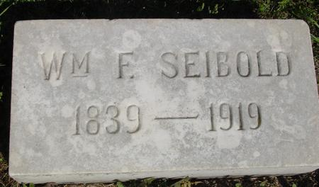 SEIBOLD, WILLIAM F. - Woodbury County, Iowa | WILLIAM F. SEIBOLD