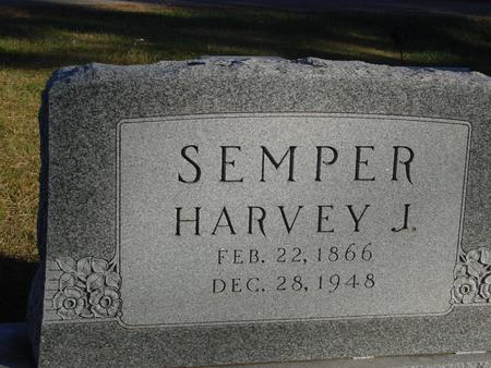SEMPER, HARVEY J. - Woodbury County, Iowa | HARVEY J. SEMPER