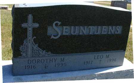 SEUNTJENS, LEO & DOROTHY - Woodbury County, Iowa | LEO & DOROTHY SEUNTJENS