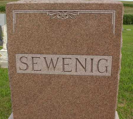 SEWENIG, FAMILY MARKER - Woodbury County, Iowa | FAMILY MARKER SEWENIG