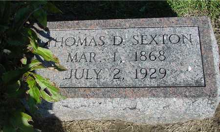 SEXTON, THOMAS D. - Woodbury County, Iowa | THOMAS D. SEXTON