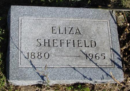 SHEFFIELD, ELIZA - Woodbury County, Iowa | ELIZA SHEFFIELD