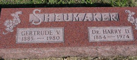 SHEUMAKER, HARRY & GERTRUDE - Woodbury County, Iowa | HARRY & GERTRUDE SHEUMAKER