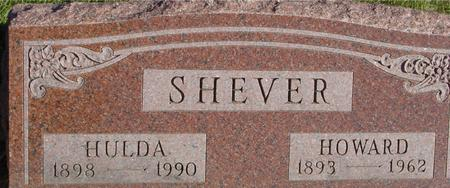 SHEVER, HOWARD & HULDA - Woodbury County, Iowa | HOWARD & HULDA SHEVER