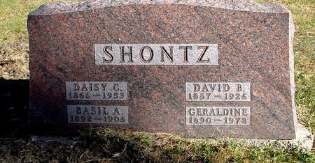 SHONTZ, DAVID & DAISY - Woodbury County, Iowa | DAVID & DAISY SHONTZ