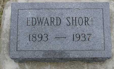 SHORT, EDWARD - Woodbury County, Iowa | EDWARD SHORT