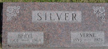 SILVER, VERNE & BERYL - Woodbury County, Iowa | VERNE & BERYL SILVER