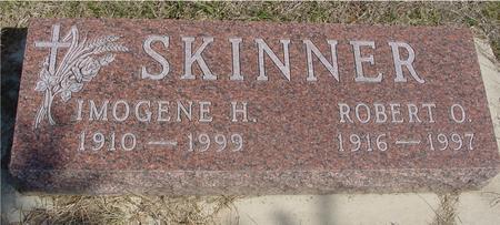 SKINNER, ROBERT & IMOGENE - Woodbury County, Iowa | ROBERT & IMOGENE SKINNER
