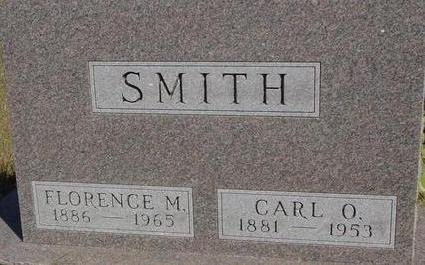 SMITH, CARL & FLORENCE - Woodbury County, Iowa | CARL & FLORENCE SMITH