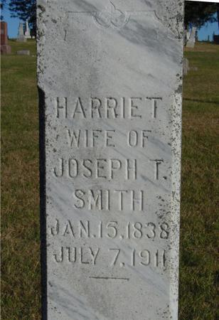 SMITH, HARRIET - Woodbury County, Iowa | HARRIET SMITH