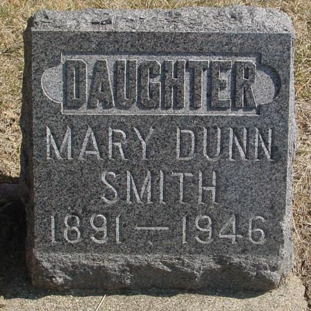 DUNN SMITH, MARY - Woodbury County, Iowa | MARY DUNN SMITH