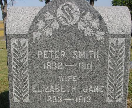 SMITH, PETER & ELIZABETH - Woodbury County, Iowa   PETER & ELIZABETH SMITH