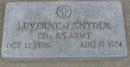 SNYDER, LUVERNE J. - Woodbury County, Iowa | LUVERNE J. SNYDER