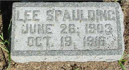 SPAULING, LEE - Woodbury County, Iowa | LEE SPAULING