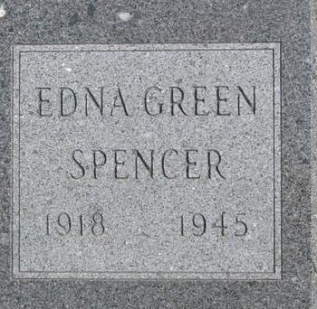 GREEN SPENCER, EDNA - Woodbury County, Iowa | EDNA GREEN SPENCER