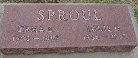 SPROUL, LOUIS & ERMA - Woodbury County, Iowa | LOUIS & ERMA SPROUL
