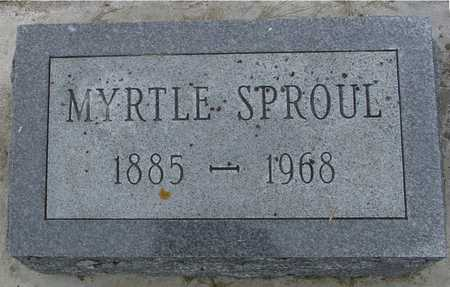 SPROUL, MYRTLE - Woodbury County, Iowa | MYRTLE SPROUL