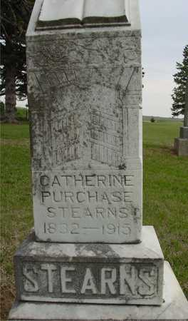 STEARNS, CATHERINE PURCHASE - Woodbury County, Iowa | CATHERINE PURCHASE STEARNS