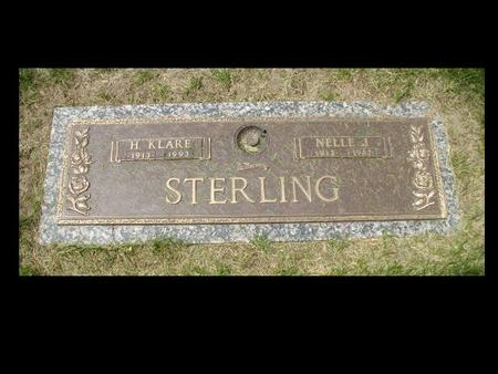 STERLING, H KLARE - Woodbury County, Iowa | H KLARE STERLING