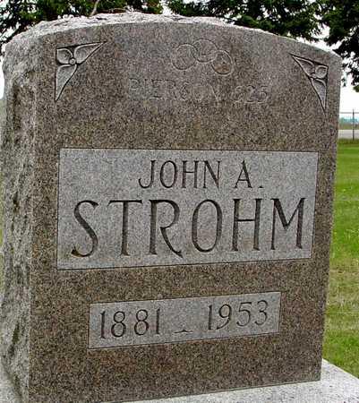 STROHM, JOHN A. - Woodbury County, Iowa | JOHN A. STROHM