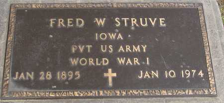 STRUVE, FRED W. - Woodbury County, Iowa | FRED W. STRUVE