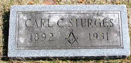 STURGES, CARL C. - Woodbury County, Iowa | CARL C. STURGES