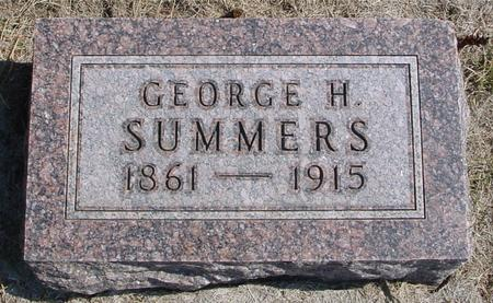 SUMMERS, GEORGE H. - Woodbury County, Iowa | GEORGE H. SUMMERS