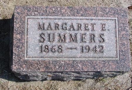 SUMMERS, MARGARET E. - Woodbury County, Iowa | MARGARET E. SUMMERS