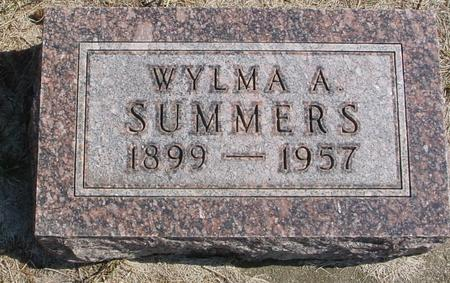 SUMMERS, WYLMA A. - Woodbury County, Iowa | WYLMA A. SUMMERS