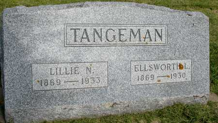 TANGEMAN, ELLSWORTH & LILLIE N. - Woodbury County, Iowa | ELLSWORTH & LILLIE N. TANGEMAN
