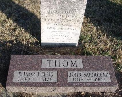 ELLIS THOM, ELINOR - Woodbury County, Iowa | ELINOR ELLIS THOM