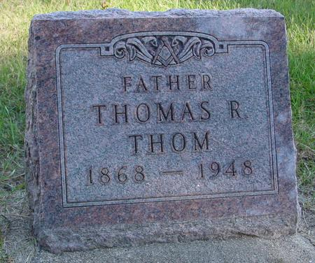 THOM, THOMAS R. - Woodbury County, Iowa | THOMAS R. THOM