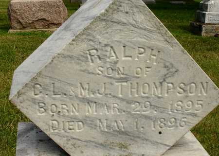 THOMPSON, RALPH - Woodbury County, Iowa | RALPH THOMPSON