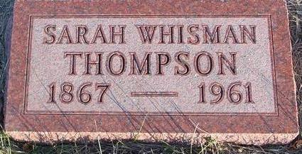 WHISMAN THOMPSON, SARAH - Woodbury County, Iowa | SARAH WHISMAN THOMPSON
