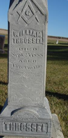 THROSSEL, WILLIAM - Woodbury County, Iowa | WILLIAM THROSSEL