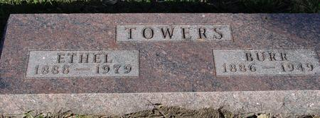 TOWERS, BURR & ETHEL - Woodbury County, Iowa | BURR & ETHEL TOWERS
