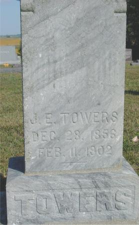 TOWERS, J. E. - Woodbury County, Iowa | J. E. TOWERS