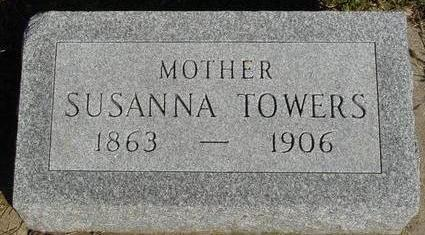 TOWERS, SUSANNA - Woodbury County, Iowa | SUSANNA TOWERS