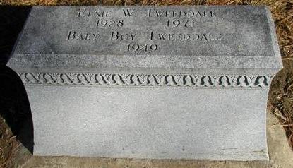 TWEEDDALE, ELSIE W - Woodbury County, Iowa | ELSIE W TWEEDDALE