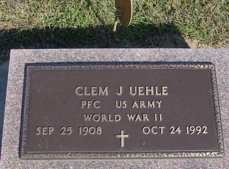 UEHLE, CLEM J. - Woodbury County, Iowa | CLEM J. UEHLE