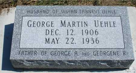 UEHLE, GEORGE MARTIN - Woodbury County, Iowa | GEORGE MARTIN UEHLE