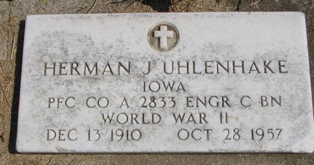 UHLENHAKE, HERMAN J. - Woodbury County, Iowa | HERMAN J. UHLENHAKE