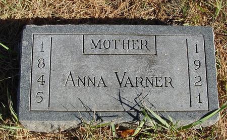 VARNER, ANNA - Woodbury County, Iowa | ANNA VARNER