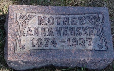 VENSKE, ANNA - Woodbury County, Iowa | ANNA VENSKE