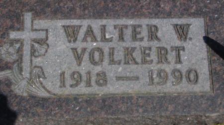 VOLKERT, WALTER  W. - Woodbury County, Iowa | WALTER  W. VOLKERT