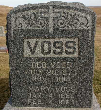 VOSS, GEORGE & MARY - Woodbury County, Iowa | GEORGE & MARY VOSS